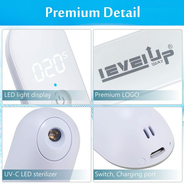 levelupway-mini-uv-c-led-sterilizer-functions